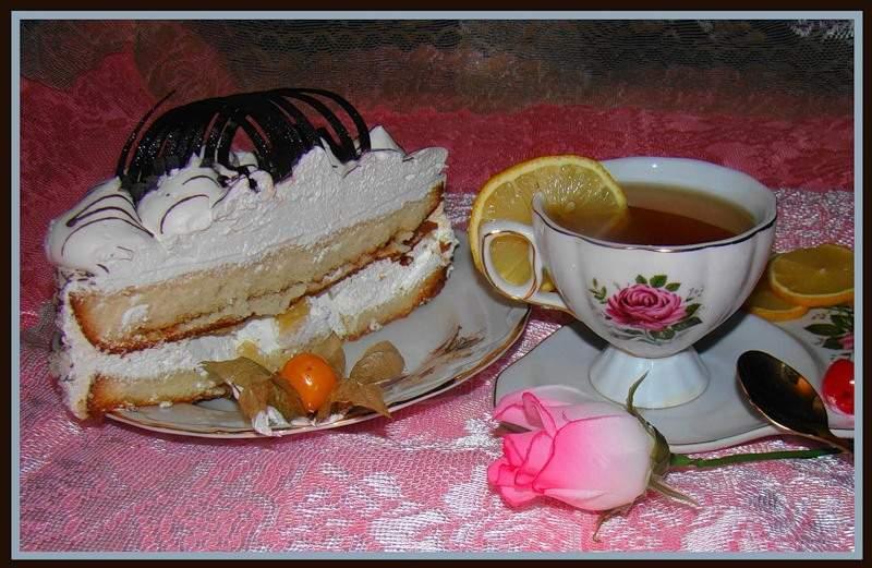 Тортик к чаю фото
