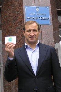 Олег Бабаев - кандидат №1 на должность мера Кременчуга