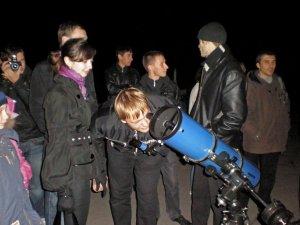 Через телескоп к звездам, Или вечер тротуарной астрономии в Кременчуге