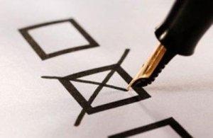 В Кременчуге наблюдатели пытаются напомнить о своей партии прямо на избирательных участках
