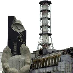 Радиационный фон вокруг ЧАЭС
