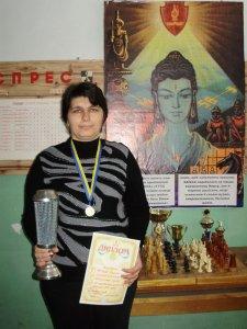 Лариса - покорительница шахмат