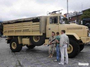 Ретро, милитари и коммунальные новинки от АвтоКрАЗа