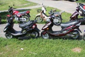 Мопеды и скутеры под прицелом воров