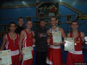Кременчугские боксеры завоевали бронзу Международного турнира