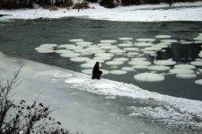 МЧСники призывают кременчужан быть осмотрительными на льду