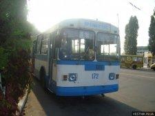 Кременчугских троллейбусников поздравили коллеги из других городов и Левитан