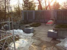 Вандализм на Реевском кладбище