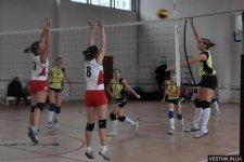 СК «Нефтехимик» выиграла турнир по волейболу среди девочек