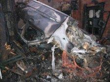 """В Крюкове 21-летний водитель сгорел заживо в """"Мерседесе"""""""