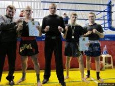 Тайские боксеры привезли три награды с открытого Чемпионата