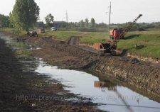 Дренажный канал вдоль Хорольской прочистят в следующем году