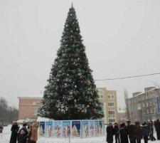Главную елку Кременчуга откроют завтра