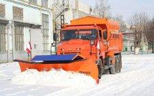 «КрАЗ» выпустил снегоуборочные машины