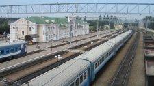 Кременчугский железнодорожный вокзал соревнуется в конкурсе за лучшее оформление