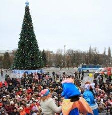 Новогодние праздники кременчугская милиция встретит «под елками»