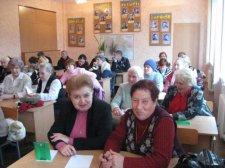 Крюковские студенты-пенсионеры ушли на каникулы