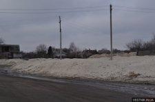 В Кременчуге на дороги высыпали почти 164 тонны песка