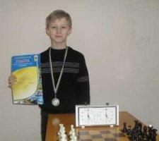 Воспитанник ОДЮК занял второе место в областном чемпионате по шахматам