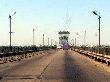 Мост в Кременчуге снова темный