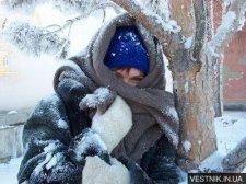 В Украине появились жертвы морозов