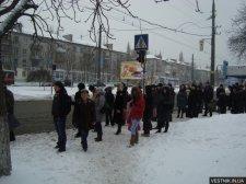 В Кременчуге утром из-за ДТП остановились троллейбусы