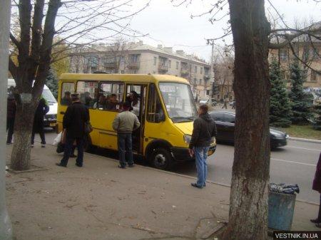 Из Кременчуга хотят убрать светловодские маршрутки