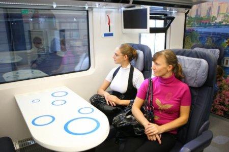 Укрзализныця вернула новый поезд КВСЗ на доработку
