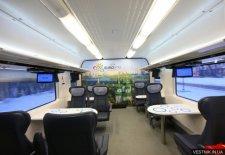 Первый скоростной поезд Крюковского вагонзавода выходит на маршрут