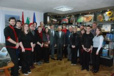 Студенты из Америки исполняли гимн Украины и «Червону руту»