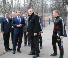 В этом году работы по реконструкции городского парка культуры и отдыха «Приднепровский» будут продолжены