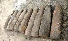 За сутки в области нашли 9 мин и артснарядов