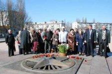 В Кременчуге почтили память узников фашистских концлагерей
