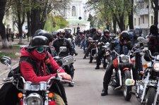 В Полтаве байкеры сняли зимний мототоксикоз