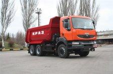 Самосвал КрАЗ дебютировал на выставке в Екатеринбурге