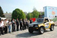 27 апреля в Кременчуге стартовал трофи-рейд