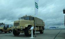 АвтоКрАЗ показал новинку на военной выставке в Казахстане