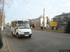 Кременчугских маршрутчиков будут штрафовать за мойку автобусов