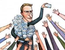Кременчугские налоговики продолжают выявлять неоформленных работников