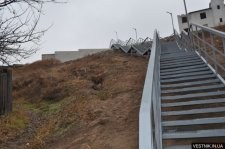 В Кременчуге выделили деньги на укрепление склона в районе Хорольской