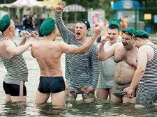 Кременчугские пограничники празднуют - милиция дежурит