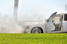 В Кременчуге сгорел очередной автомобиль