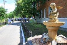 В Кременчуге открыли II этаж Крюковского родильного отделения