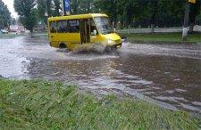 Ураган на Раковке заставил транспорт ездить по-новому
