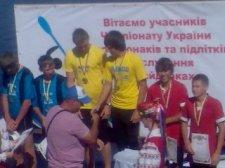 Кременчугские гребцы третьи в Украине