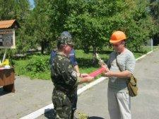 В Крюковском районе соревновались невоенизированные противопожарные формирования гражданской обороны