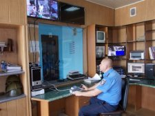 В Лубнах установили систему видеонаблюдения по городу