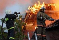 В Кременчуге снова горел сарай
