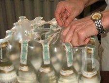 Кременчугские налоговики разоблачили партию «паленой» водки