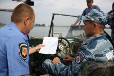 Состоялся очередной рейд водной милиции Кременчуга